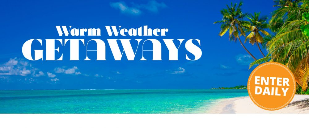 Midwest Living Warm Weather Getaways Sweepstakes 2017 (MidwestLiving.com/WarmWeather)
