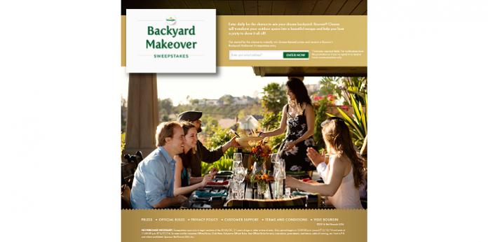 BoursinBackyardMakeover.com - Boursin Backyard Makeover Sweepstakes