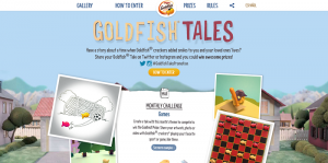 Goldfish Tales Monthly Promotion presented by Pepperidge Farm