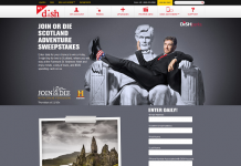 DISH Join or Die Scotland Adventure Sweepstakes