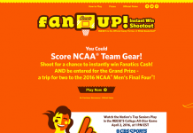 ReesesFanUp.com - Reese's Fan Up Promotion