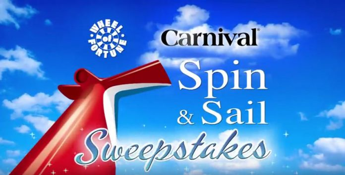 Carnival Spin & Sail Sweepstakes