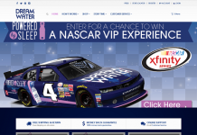 DrinkDreamWater.com Ultimate VIP NASCAR Experience Sweepstakes