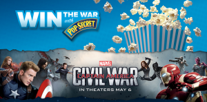 Win the War with Pop Secret Sweepstakes