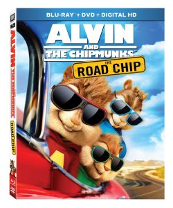 alvin and the chipmunks the road chip blu-ray disc