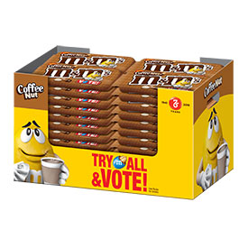 m&m's vote coffee nut