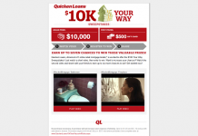 QuickenLoans10KYourWay.com: Quicken Loans $10K Your Way Sweepstakes
