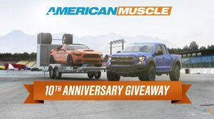 American Muscle 10th Anniversary Giveaway