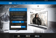 Cox.com/UltimateTVContest - Cox Ultimate TV Contest 2016