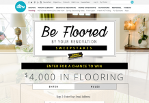 HGTV.com/BeFlooredSweepstakes HGTV Be Floored by Your Renovation Sweepstakes