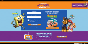 MissionFindTheFun.com - Nickelodeon Mission Find The Fun Sweepstakes 2016