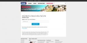 Travel Channel Sweepstakes 2016: Amalfi Coast