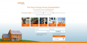 Voya Orange House Sweepstakes