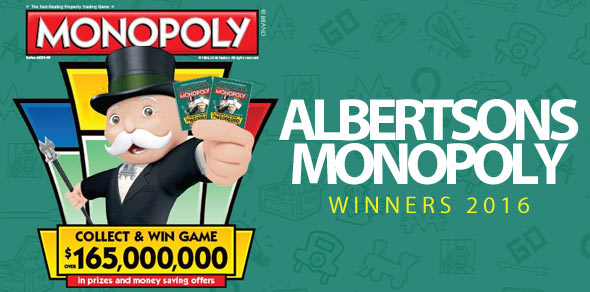 play monopoly albertsons 2016