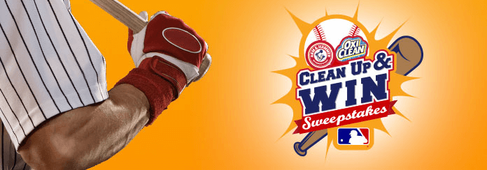 MLB.com Clean Up And Win Sweepstakes 2017
