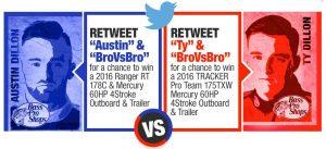 BassPro.com BroVsBro Sweepstakes Tweets