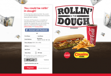 Cousins & Coca-Cola Rollin' in the Dough Instant Win And Sweepstakes