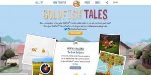 Goldfish Crackers Monthly Challenge