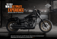 h-d.com/ultimatesweeps - Harley-Davidson Ultimate Experience Sweepstakes