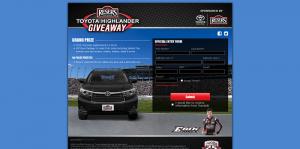 ResersRacing.com - Reser's Toyota Highlander Giveaway