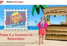 SummersGreetings.com - AARP Summer's Greetings Sweepstakes
