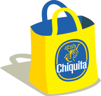 chiquita banana bag