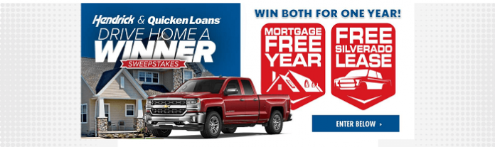 DriveHomeAWinner.com Quicken Loans Drive Home A Winner Sweepstakes 2016