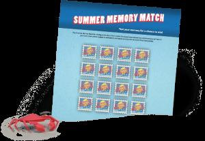 summer memory match
