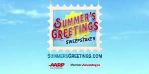 SummersGreetings.com - AARP Summer's Greetings Sweepstakes
