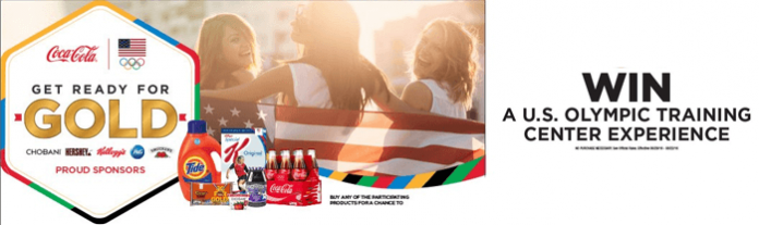 CokePlayToWin.com/ReadyForGold - Get Ready for Gold Sweepstakes