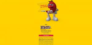 M&M'S Brand Movie Game