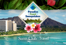 SamsClub.com/TravelSweeps - Paradise Found Sweepstakes