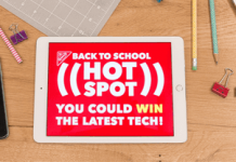 BTSHotspot.com - Back To School Hot Spot Instant Win Game