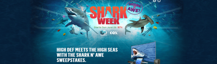 Cox.DiscoveryPhotoSharked.com - Cox & Discovery Shark N' Awe Sweepstakes