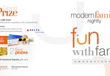 Modern Family Fun With Fam Sweepstakes