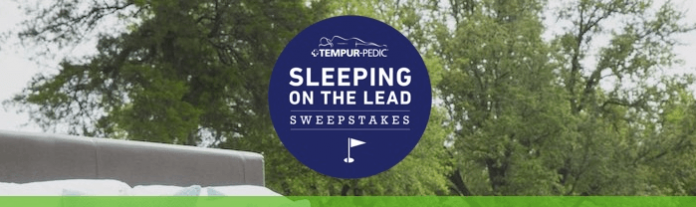TempurPedicGolf.com - TEMPUR-Pedic Sleeping on the Lead Sweepstakes