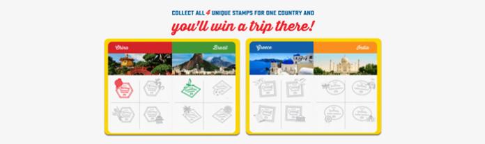 Passport To Flavor Rare Stamp