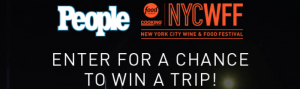 People.com/16NYCWFF - People NYC Wine And Food Festival Sweepstakes 2016