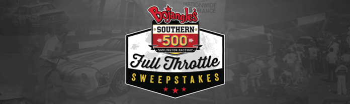 WinWithBo.com: Bojangles' Southern 500 Full Throttle Sweepstakes