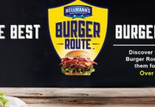 Hellmann's Burger Route Sweepstakes 2016