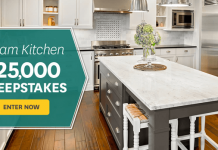 BHG Dream Kitchen $25,000 Sweepstakes (BHG.com/25K)