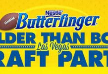 Butterfinger.com/Draft - Butterfinger Bolder Than Bold Las Vegas Draft Party Sweepstakes