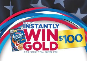 Kellogg's Back To School Win Gold Instant Win Game