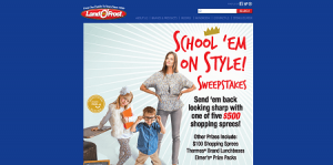 Land O'Frost School 'Em on Style Sweepstakes