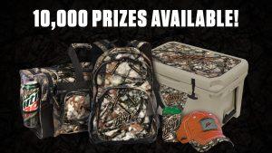 mtn dew prizes