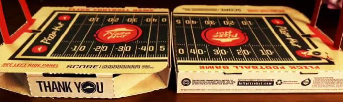 Pizza Hut #PIZZAHUTHUT Flick Football Sweepstakes