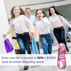 Purex Win a Back to School Shopping Spree Sweepstakes 2016