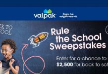 Valpak Rule the School Sweepstakes 2017