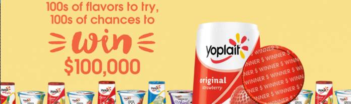 Yoplait.com/100Ways For A Chance To Win $100,000