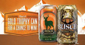 Busch Gold Trophy Can 2016